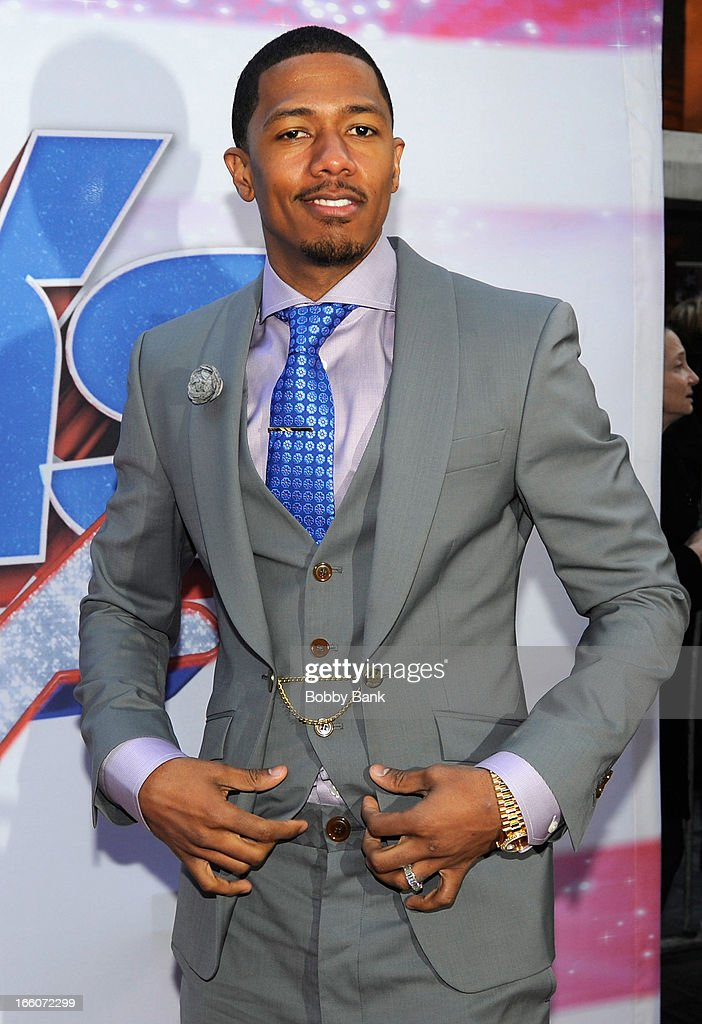 <a gi-track='captionPersonalityLinkClicked' href=/galleries/search?phrase=Nick+Cannon&family=editorial&specificpeople=202208 ng-click='$event.stopPropagation()'>Nick Cannon</a> attends the 'America's Got Talent' New York Auditions at Rockefeller Center on April 8, 2013 in New York City.