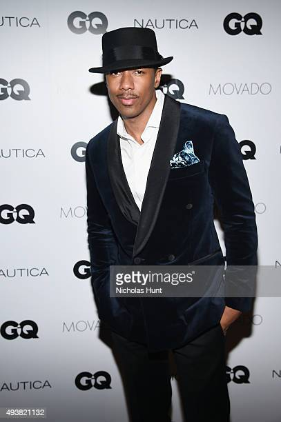 Nick Cannon attends the GQ Gentlemen's Fund cocktail reception awards ceremony at The Gent on October 22 2015 in New York City
