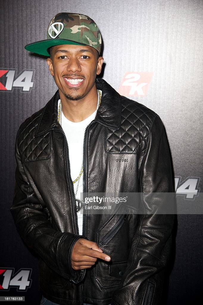 <a gi-track='captionPersonalityLinkClicked' href=/galleries/search?phrase=Nick+Cannon&family=editorial&specificpeople=202208 ng-click='$event.stopPropagation()'>Nick Cannon</a> attends the NBA2K14 premier at Greystone Manor Supperclub on September 24, 2013 in West Hollywood, California.