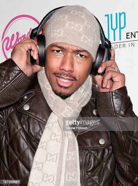 Nick Cannon attends 'The Wonder Girls' Los Angeles premiere held at the CGV Cinemas on January 20 2012 in Los Angeles California