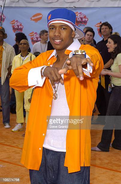 Nick Cannon during Nickelodeon's 17th Annual Kids' Choice Awards Arrivals at Pauley Pavillion in Westwood California United States