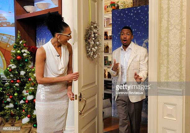THE CHEW Nick Cannon is today's guest and ESPNs Jesse Palmer guest cohosts 'The Chew' airs MONDAY FRIDAY on the ABC Television Network