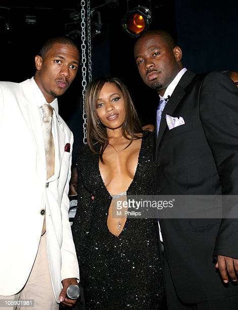 Nick Cannon Melyssa Ford and Adell Henderson King Magazine's West Coast Editor