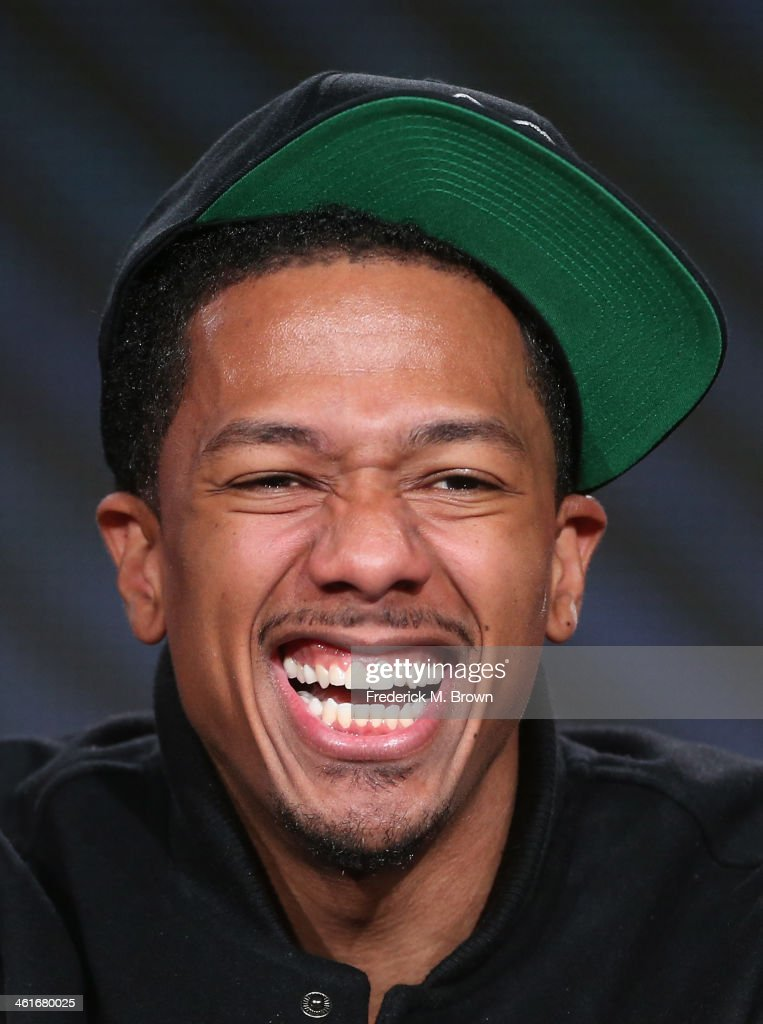 <a gi-track='captionPersonalityLinkClicked' href=/galleries/search?phrase=Nick+Cannon&family=editorial&specificpeople=202208 ng-click='$event.stopPropagation()'>Nick Cannon</a> speaks onstage during the 'MTV2 - Comedy Panel' panel discussion at the Viacom portion of the 2014 Winter Television Critics Association tour at the Langham Hotel on January 10, 2014 in Pasadena, California.
