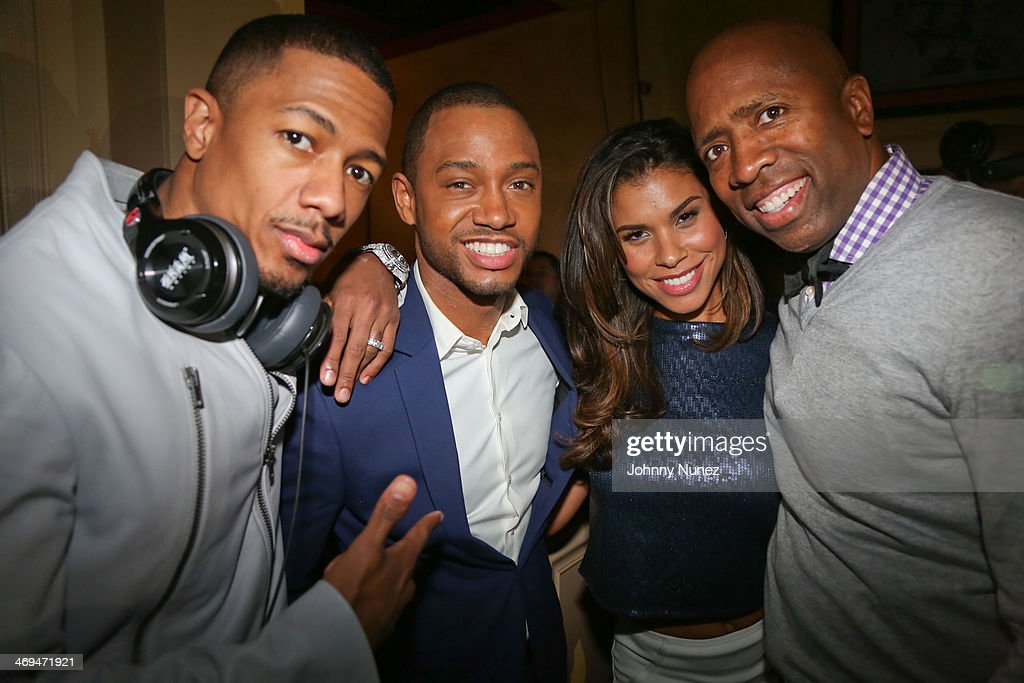 <a gi-track='captionPersonalityLinkClicked' href=/galleries/search?phrase=Nick+Cannon&family=editorial&specificpeople=202208 ng-click='$event.stopPropagation()'>Nick Cannon</a>, <a gi-track='captionPersonalityLinkClicked' href=/galleries/search?phrase=Terrence+J&family=editorial&specificpeople=4419581 ng-click='$event.stopPropagation()'>Terrence J</a>, Gwendolyn Smith and <a gi-track='captionPersonalityLinkClicked' href=/galleries/search?phrase=Kenny+Smith&family=editorial&specificpeople=221585 ng-click='$event.stopPropagation()'>Kenny Smith</a> attend the Kenny 'The Jet' Smith all-star party during NBA All-Star Weekend 2014 at Metropolitan Nightclub on February 14, 2014 in New Orleans, Louisiana.