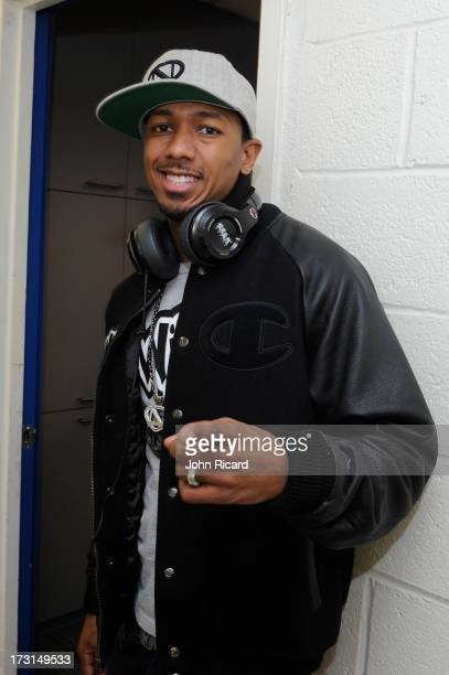 Nick Cannon visits BET's '106 Park' at BET Studios on July 8 2013 in New York City