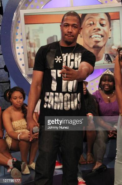 Nick Cannon visits BET's '106 Park' at BET Studios on June 3 2011 in New York City