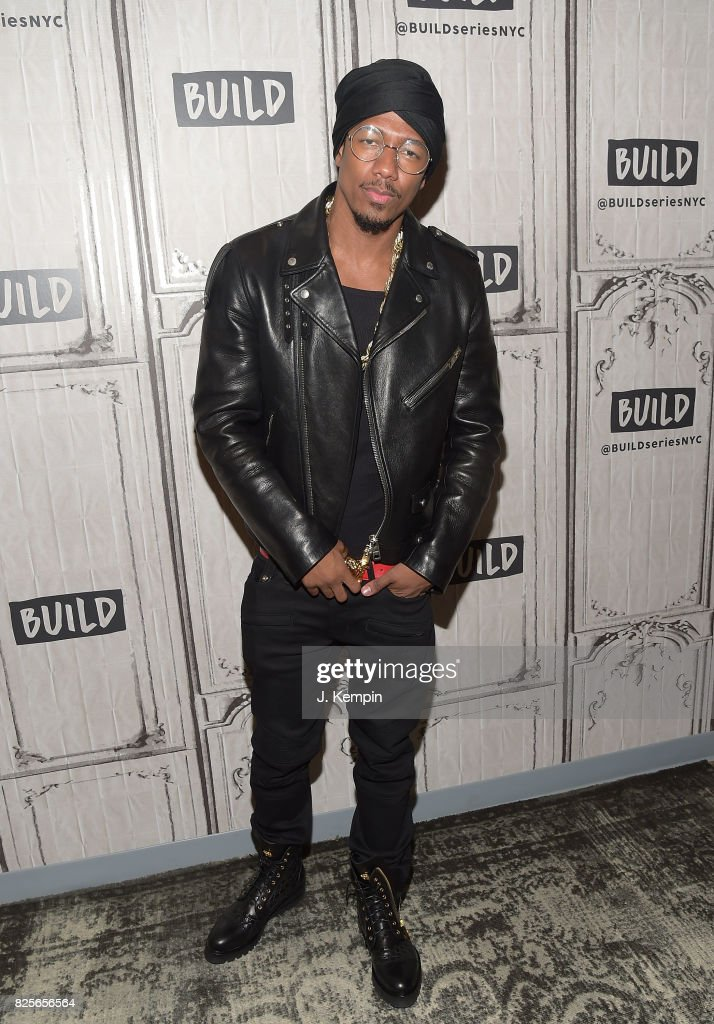 Nick Cannon visits Build Series at Build Studio on August 2, 2017 in New York City.