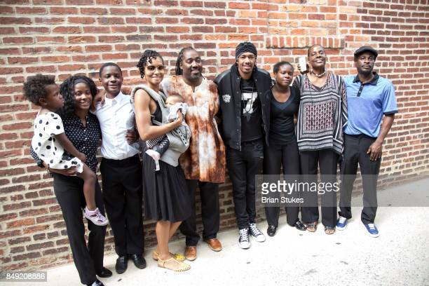 Nick Canon and Gregory Family attends Dick Gregory's Parade Of Life at The Legendary Howard Theatre on September 17 2017 in Washington District of...