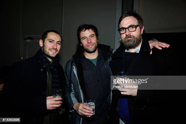 Nick Carnevale Will Anderson and Nick Hallan attend PIER 59 Studios 15th Anniversary Party at PIER 59 Studios on February 12 2010 in New York City