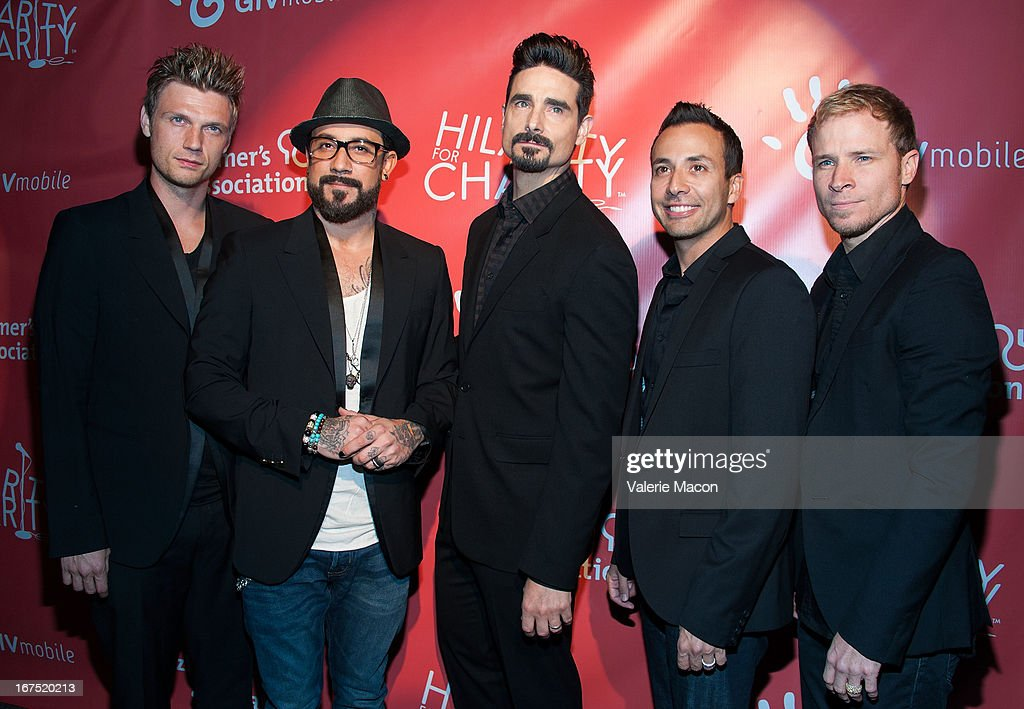 <a gi-track='captionPersonalityLinkClicked' href=/galleries/search?phrase=Nick+Carter&family=editorial&specificpeople=201755 ng-click='$event.stopPropagation()'>Nick Carter</a>, A.J. McLean, Kevin Richardson, <a gi-track='captionPersonalityLinkClicked' href=/galleries/search?phrase=Howie+Dorough&family=editorial&specificpeople=204770 ng-click='$event.stopPropagation()'>Howie Dorough</a> and <a gi-track='captionPersonalityLinkClicked' href=/galleries/search?phrase=Brian+Littrell&family=editorial&specificpeople=215310 ng-click='$event.stopPropagation()'>Brian Littrell</a> of Backstreet Boys arrives at the 2nd Annual Hilarity for Charity Event at Avalon on April 25, 2013 in Hollywood, California.