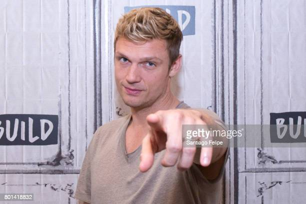 Nick Carter attends Build Presents to discuss the new show 'Boy Band' at Build Studio on June 26 2017 in New York City