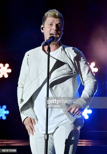 Nick Carter of Backstreet Boys performs onstage during 1027 KIIS FM's 2017 Wango Tango at StubHub Center on May 13 2017 in Carson California