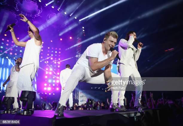 Nick Carter of Backstreet Boys performs onstage during 1027 KIIS FM's 2017 Wango Tango at StubHub Center on May 13 2017 in Carson California