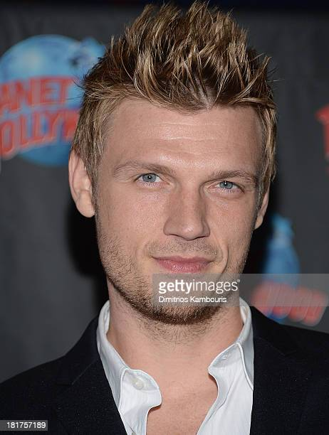 Nick Carter visits Planet Hollywood Times Square on September 24 2013 in New York City
