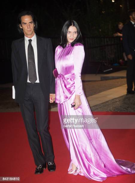 Nick Cave and Susie Bick attend the GQ Men Of The Year Awards at Tate Modern on September 5 2017 in London England