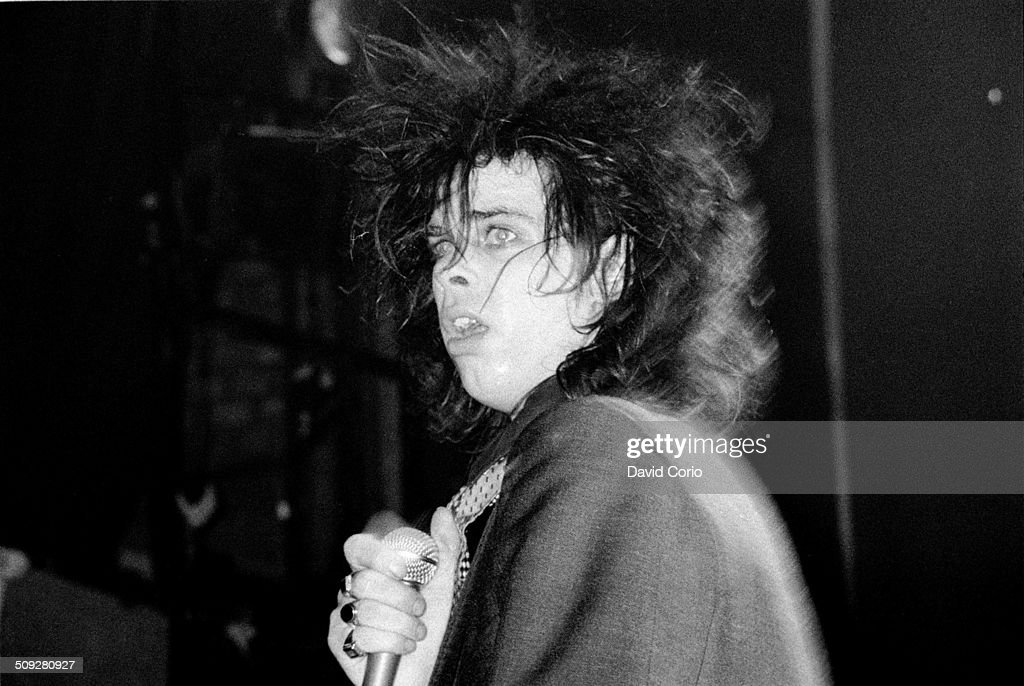 Nick Cave and The Birthday Party performing at The Venue Victoria London UK on 5 August 1982