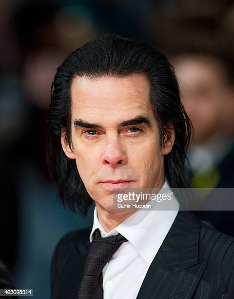 Nick Cave attends the EE British Academy Film Awards at The Royal Opera House on February 8 2015 in London England