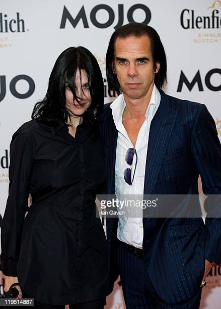Nick Cave attends the Glenfiddich Mojo Honours List 2011 at The Brewery on July 21 2011 in London England