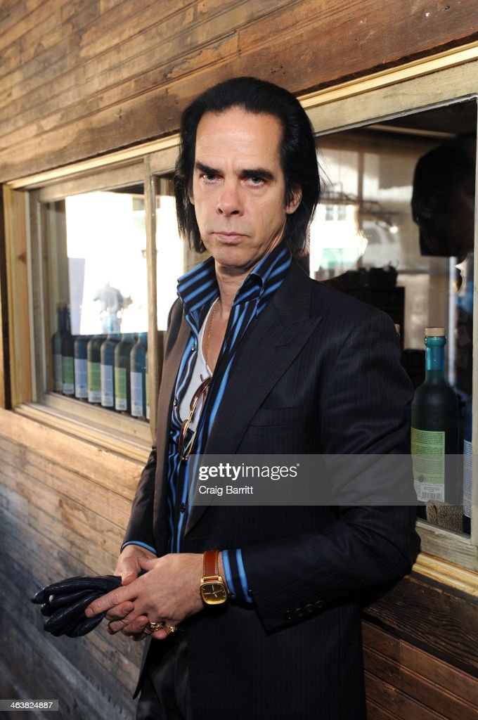 Nick Cave attends the UK Film Party At Sundance 2014 on January 19 2014 in Park City Utah