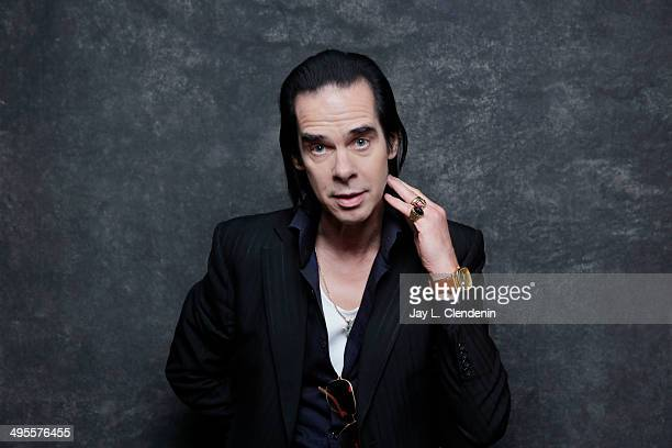 Nick Cave is photographed for Los Angeles Times on January 18 2014 in Park City Utah PUBLISHED IMAGE CREDIT MUST READ Jay L Clendenin/Los Angeles...