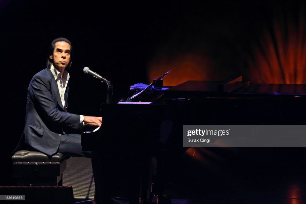Nick Cave performs on stage at the gala preview of 20000 Days on Earth at Barbican Centre on September 17 2014 in London United Kingdom