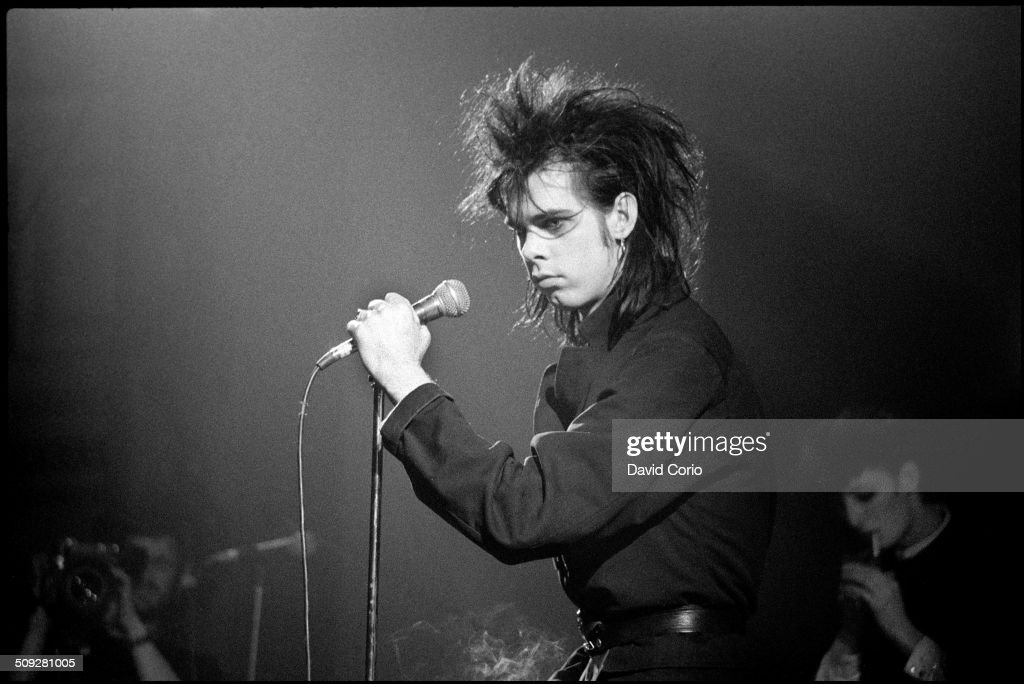 Nick Cave with the Birthday Party at The Ace Brixton London 25 November 1982