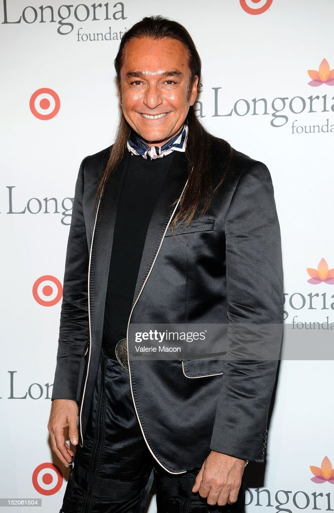 Nick Chavez arrives at The Eva Longoria Foundation's Pre-ALMA Awards Dinner Presented By Target on September 15, 2012 in Los Angeles, California.