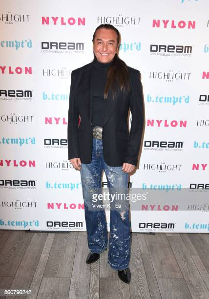 Nick Chavez attends NYLON's It Girl Party At The Highlight Room At Dream Hollywood on October 12 2017 in Hollywood California