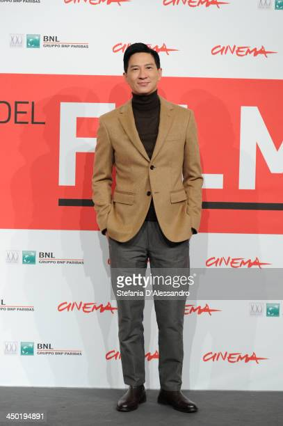 Nick Cheung attends the 'Sou Duk' Photocall during The 8th Rome Film Festival on November 17 2013 in Rome Italy