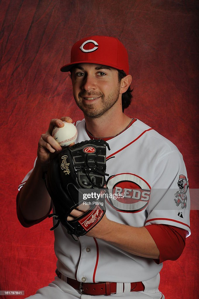 Nick Christiani #82 of the Cincinnati Reds poses during MLB photo day on February 16, 2013 at the Goodyear Ballpark in Goodyear, Arizona.