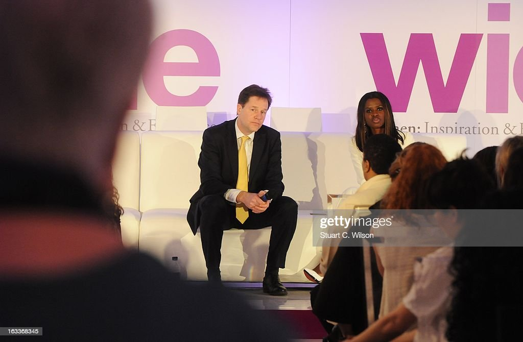 <a gi-track='captionPersonalityLinkClicked' href=/galleries/search?phrase=Nick+Clegg&family=editorial&specificpeople=579276 ng-click='$event.stopPropagation()'>Nick Clegg</a> and <a gi-track='captionPersonalityLinkClicked' href=/galleries/search?phrase=June+Sarpong&family=editorial&specificpeople=211482 ng-click='$event.stopPropagation()'>June Sarpong</a> attend the annual WIE Symposium at The Hospital Club on March 8, 2013 in London, England.