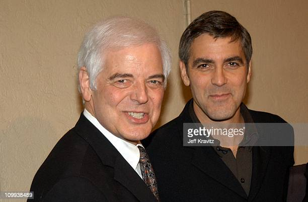 Nick Clooney and George Clooney during Confessions of a Dangerous Mind Premiere at Mann Bruin Theatre in Westwood California United States