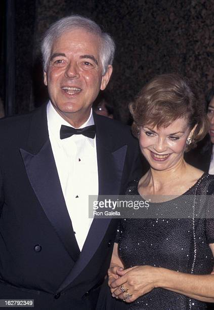 Nick Clooney and Nina Clooney attend Fifth Anniversary AMC Film Preservation Festival on September 25 1997 at the El Rey Theater in Hollywood...