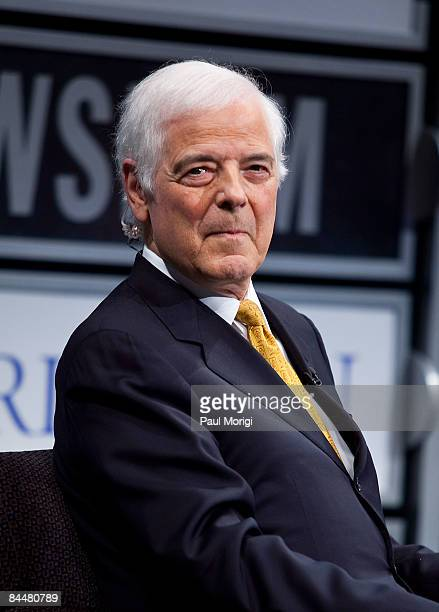 Nick Clooney at a screening of 'Good Night And Good Luck' at The Newseum on January 26 2009 in Washington DC