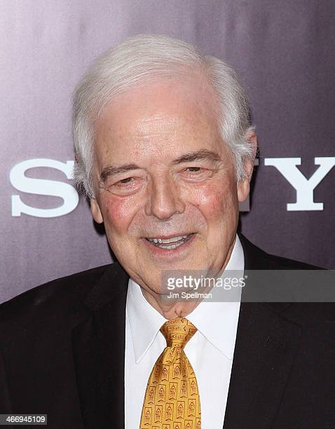 Nick Clooney attends the 'Monument Men' premiere at Ziegfeld Theater on February 4 2014 in New York City