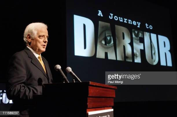 Nick Clooney during George Clooney's Documentary 'A Journey to Darfur' Premiere Presented by Nick Clooney and Martin Luther King III at AmericanLife...