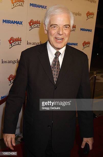 Nick Clooney during Los Angeles Premiere Of 'Confessions Of A Dangerous Mind' at Mann Bruin Theatre in Westwood California United States