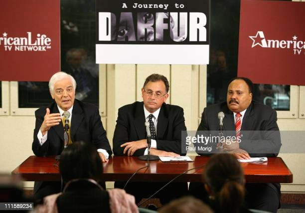 Nick Clooney Larry Meli President AmericanLife TV Network and Martin Luther King III
