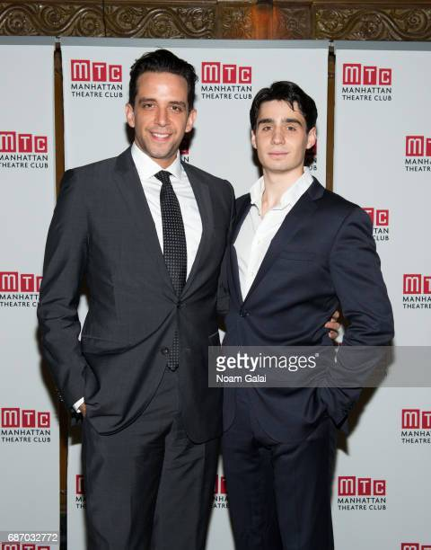 Nick Cordero and Bobby Conte Thornton attend the Manhattan Theatre Club Spring Gala 2017 at Cipriani 42nd Street on May 22 2017 in New York City