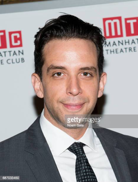 Nick Cordero attends the Manhattan Theatre Club Spring Gala 2017 at Cipriani 42nd Street on May 22 2017 in New York City