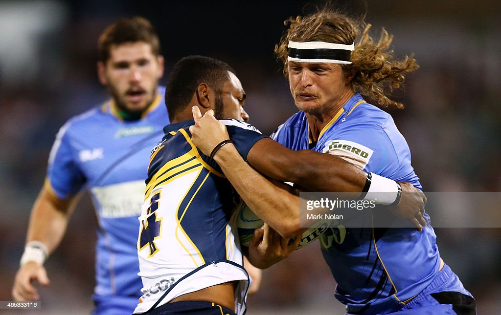 Super Rugby Rd 4 - Brumbies v Force