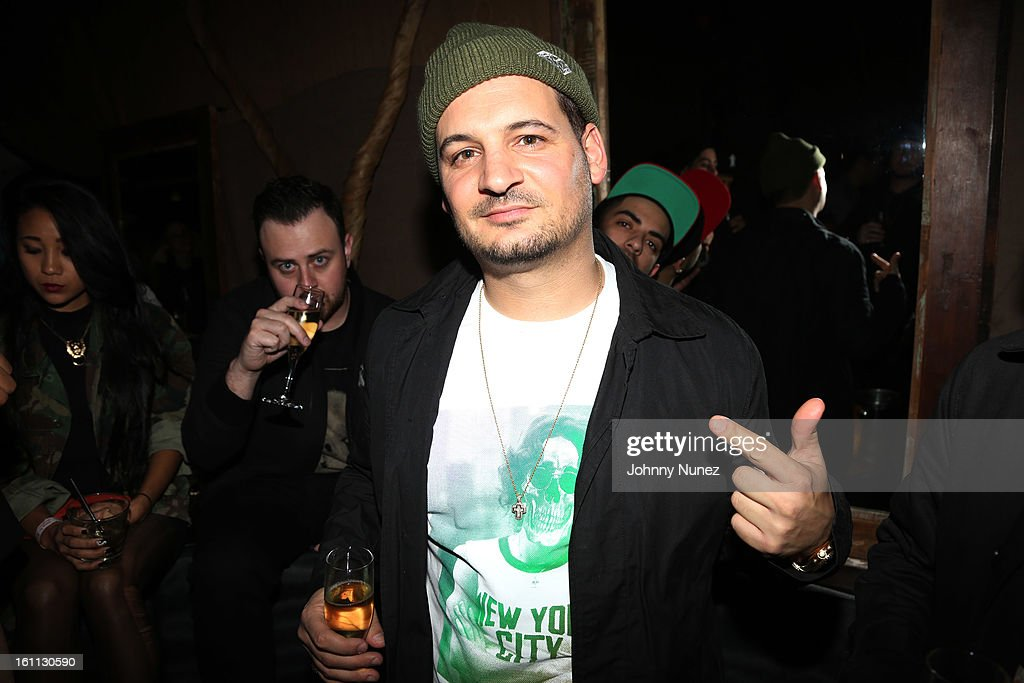 Nick 'Diamond' Tershay attends the after party for 'An Evening Celebrating Nas,' presented by Hennessy VS at Hyde Lounge on February 8, 2013, in West Hollywood, California.