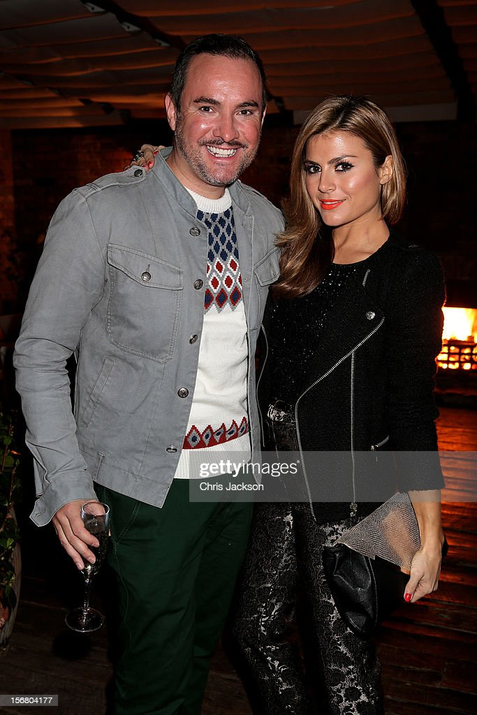 Nick Ede and Zoe Hardman attend the Vodafone Fashionable Pub Quiz at Shoreditch House on November 21, 2012 in London, United Kingdom. As Principal Sponsor of London Fashion Week, the quiz celebrated Vodafone's commitment to British Fashion.