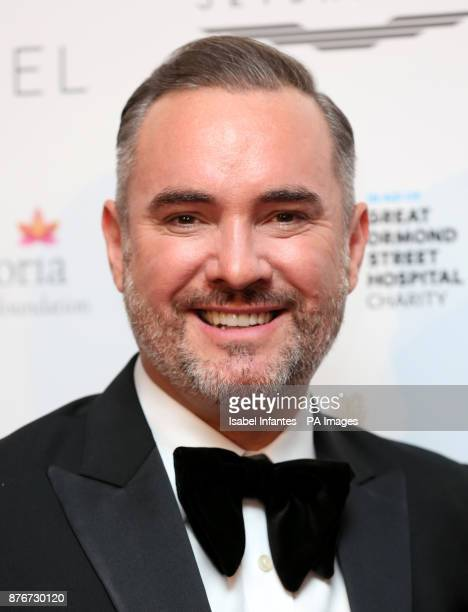 Nick Ede attending the Global Gift Gala held at The Corinthia Hotel in London PRESS ASSOCIATION Photo Picture date Saturday November 18 2017 Photo...