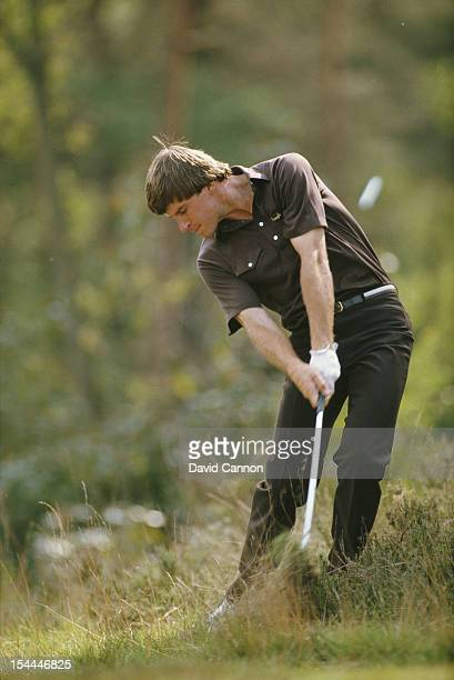 Nick Faldo of Great Britain during the Panasonic European Open Championship on 4th September 1983 at The Sunningdale Golf Club in Sunningdale United...