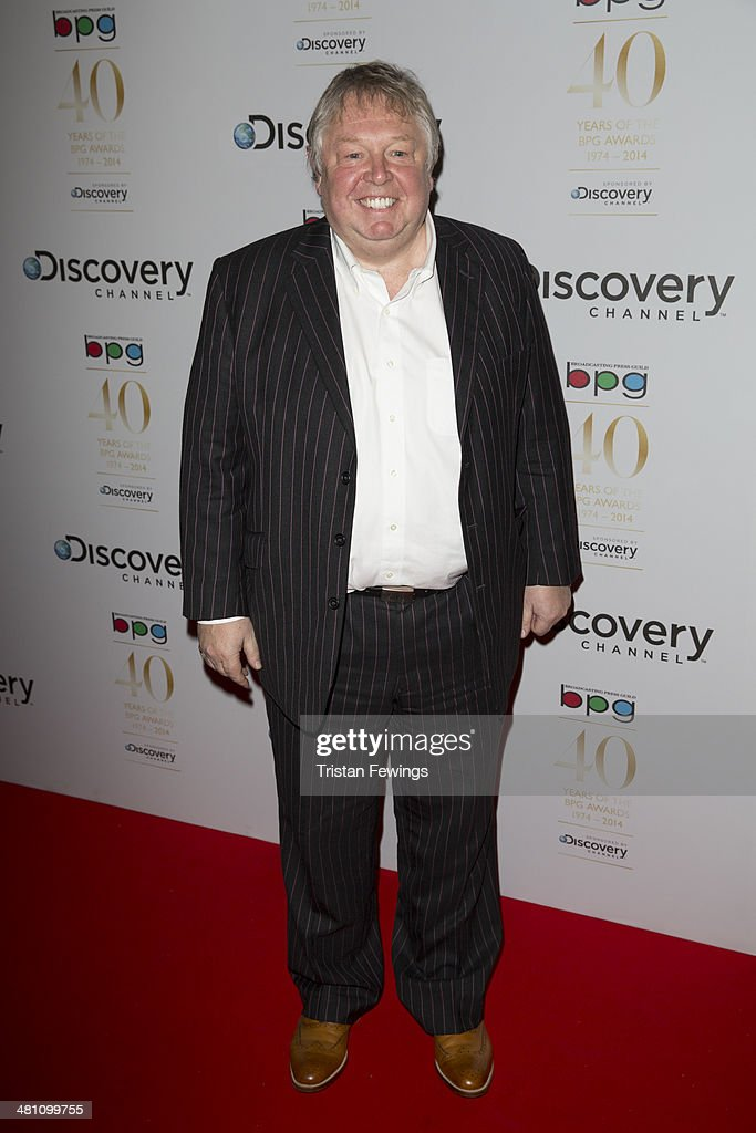 Nick Ferrari attends the Broadcasting Press Guild Awards sponsored by The Discovery Channel at Theatre Royal on March 28, 2014 in London, England.