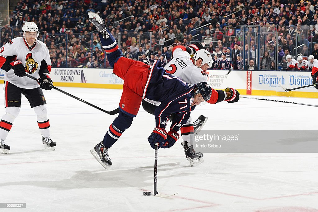 Ottawa Senators v Columbus Blue Jackets