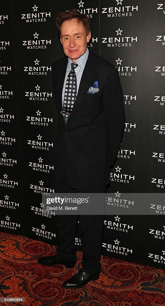 Nick Foulkes attends an evening of cigars at Mark's club in London to celebrate the launch of Zenith's new Limited Edition timepiece hosted by Aldo Magada, CEO and President of Zenith Watches, and Nick Foulkes, Author on June 30, 2016 in London, England.