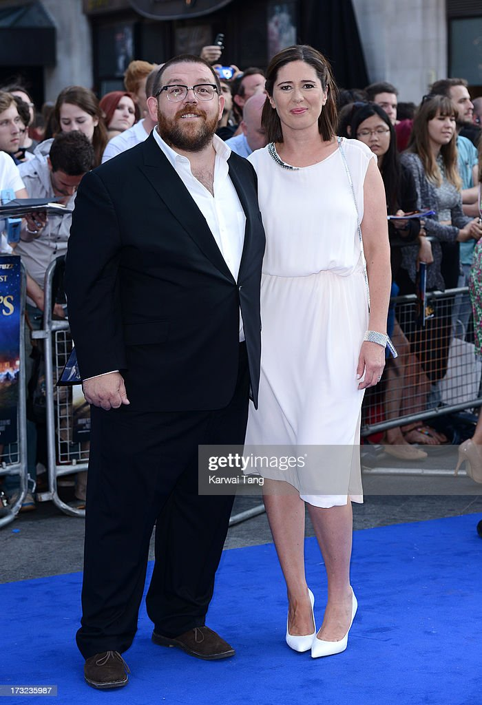 The Worlds End World Premiere Red Carpet ArrivalsNick Frost Wife